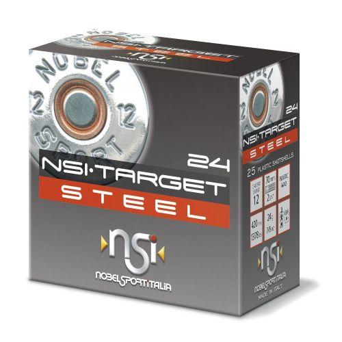 NSI Target Steel - 12G x 250