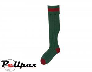 Stockings Olive/Cassat Socks by Bisley