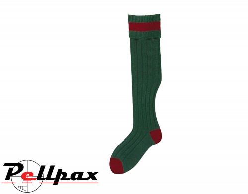 Stockings Olive/Cassat Socks by Bisley