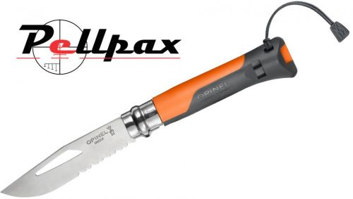 Opinel No.8 Folding Outdoor Knife - Orange