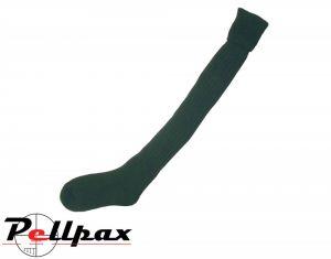 Bisley Plain Stocking Sock- Olive