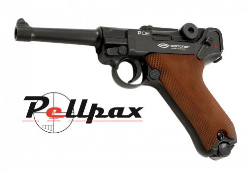 Gletcher P08 Luger - 4.5mm BB