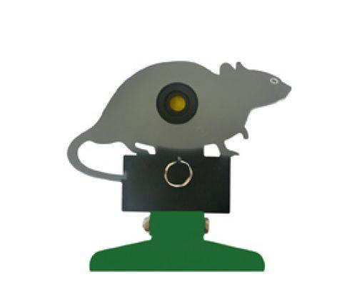 SMK Freestanding Folding Silhouette Knockdown Rat Target