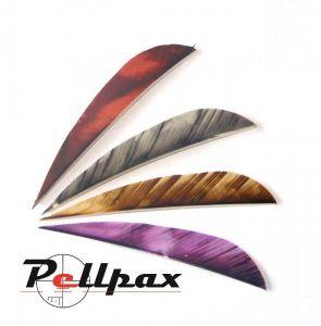 "3"" Parabolic Camo Feathers"