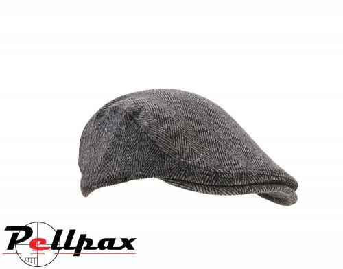 Parapet Tweed Flat Cap by Extremities