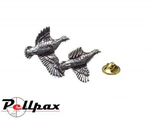 Pewter Pin Partridge - Ex Display