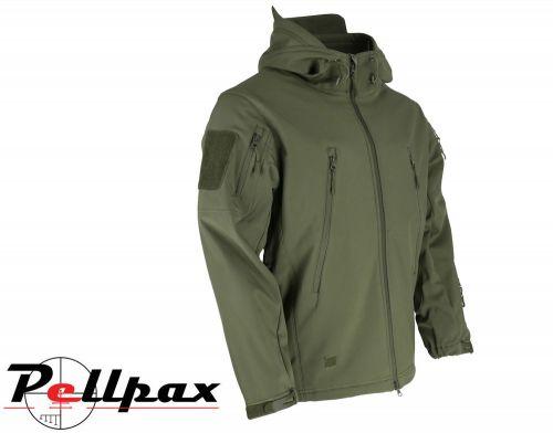 Kombat UK PATRIOT Tactical Softshell Jacket - Olive Green