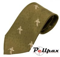 Woodcock Polyester Tie by Bisley