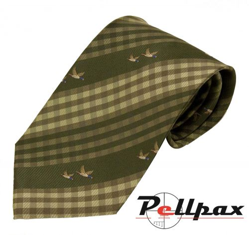 Ducks Polyester Tie by Bisley