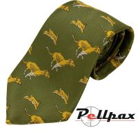 Hounds & Hare Polyester Tie by Bisley