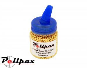 Pellpax 2400 Speed Loader Super Shot Gold High Polished Steel BBs