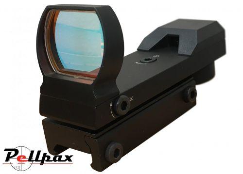 Pellpax MKII Reflex Red Dot Sight - Weaver Rail