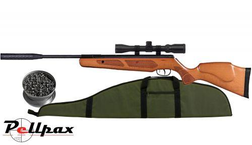 Pellpax Rabbit Sniper Gas Ram Wood - .22 Pellet