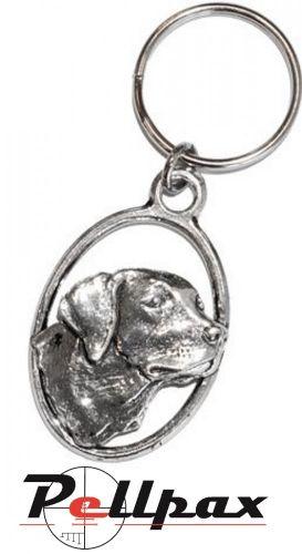 Pewter Keyring Labrador