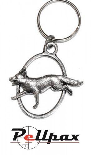 Pewter Keyring Fox