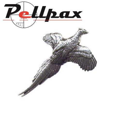 Pewter Pin Small Pheasant