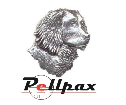 Pewter Pin Spaniels Head