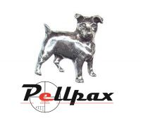 Pewter Pin Jack Russell Terrier