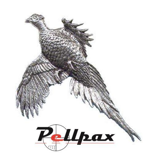 Pewter Pin Large Pheasant