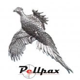 Pewter Pin Large Pheasant