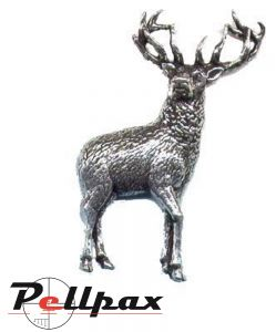Pewter Pin Stag