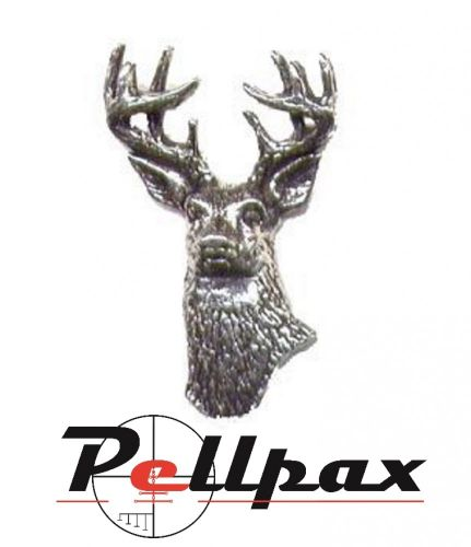 Pewter Pin White Tailed Deer