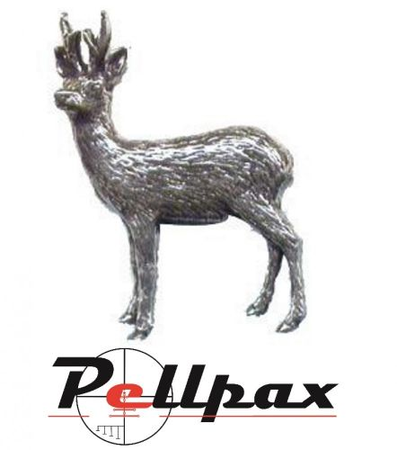 Pewter Pin Roebuck