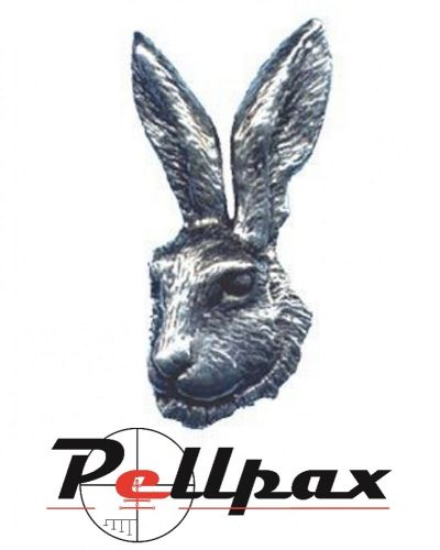 Pewter Pin Hares Head