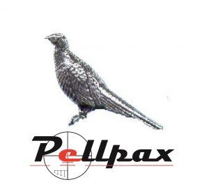 Pewter Pin Standing Pheasant