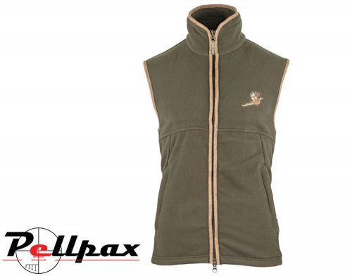 Countryman Fleece Gilet Pheasant By Jack Pyke in Dark Olive