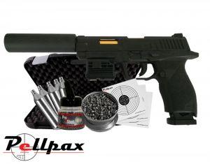 Umarex SA10 Kit - 4.5mm BB & .177 Pellet Air Pistol