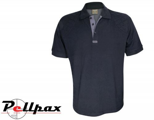 Sporting Polo shirt By Jack Pyke in Black