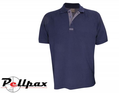 Sporting Polo Shirt By Jack Pyke in Navy