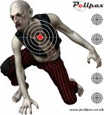 100x 17cm Zombie Targets
