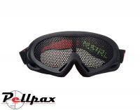 Nuprol NP Pro Airsoft Mesh Eye Protection Goggles: Black / Green / Tan