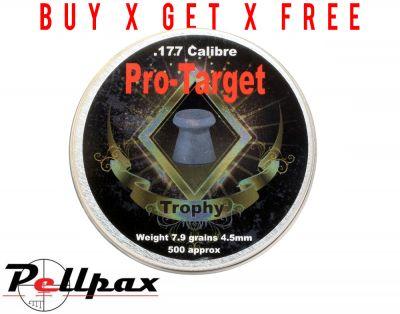 Pro-Target Trophy .177 x 500 - Buy x Get x Free!