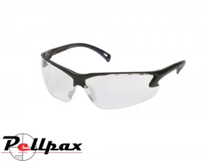 ASG Protective Wrap Around Airsoft Glasses: Clear / Black / Yellow