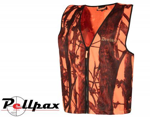 Protector Waistcoat in Blaze Camouflage by Deerhunter