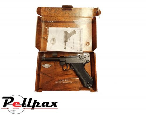 Walther P08 Luger  - 4.5mm Air Pistol - Preowned