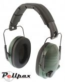 Deben Electronic Ear Defenders - Green