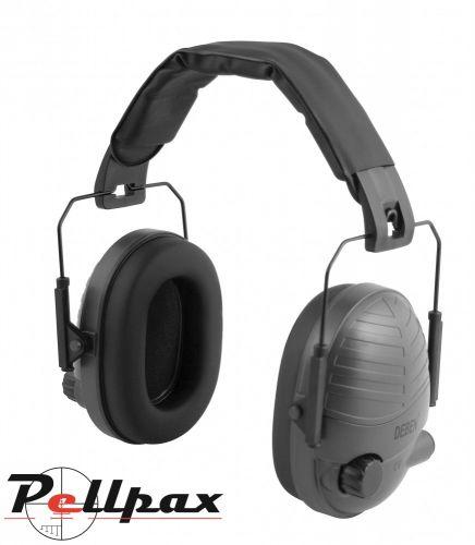 Deben Electronic Ear Defenders - Black