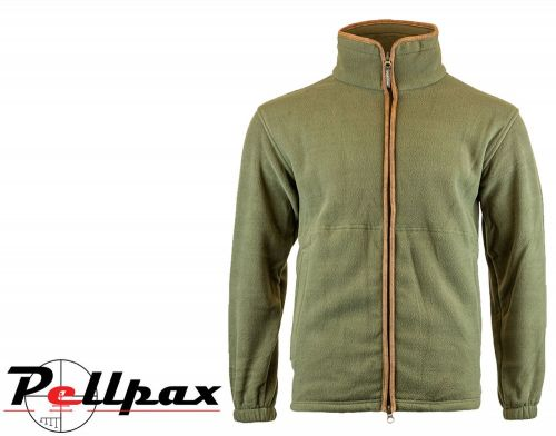 Countryman Fleece Jacket By Jack Pyke in Light Olive