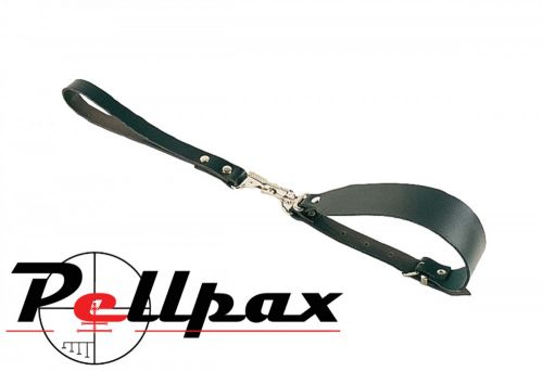 Bisley Quick Release Leather Lead and Collar Set