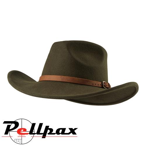 Ranger Felt Hat in Green by Deerhunter
