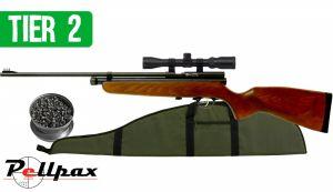 Rat Sniper Combo Air Rifle Kit .22