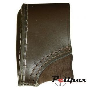 Leather Slip-On Recoil Pad by Bisley