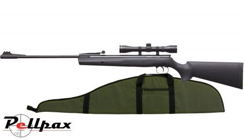 Remington Express Synthetic Air Rifle .22 + FREE Gunbag!