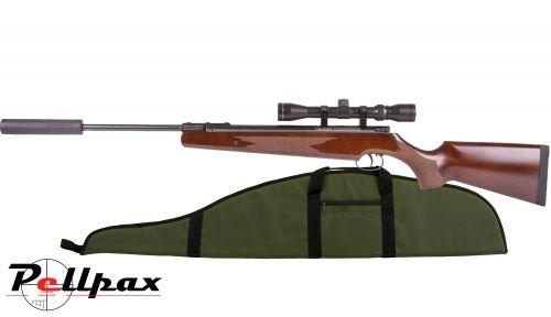 Remington Express XP .22 Pellet Spring Rifle + Bag - Second Hand