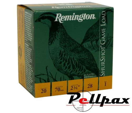 Remington Game Load Cartridges - 20G