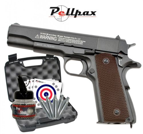 Remington P-1911 RAC 4.5mm With Hard Case - January Sale!
